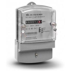 Счетчик электроэнергии Ник 2102-02 М2 однофазный однотарифний 5-60 А 220В