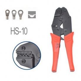 Клещи для обжима неизолированных наконечников HS-10 1,5-6 мм2