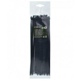 Стяжка кабельная 4,8х200 мм черный ТАКЕЛ