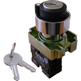 Кнопка управління поворотна з ключем XB2-BG21 Старт