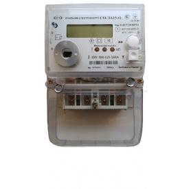 Счетчик электронный однофазный СО-ЕА15-О для многотарифного учета активной электрической энергии КоммунарСче
