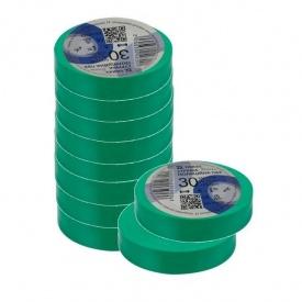 Изоляционная лента ТАКЕЛ 0,13х19 мм 30 м зеленый