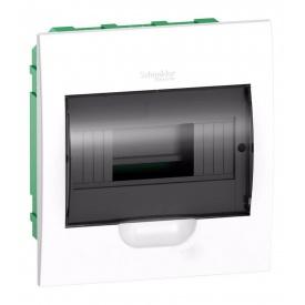 Щит распределительный встраиваемый Schneider Electric Easy9 на 8 модулей IP40 белый двери прозрачные