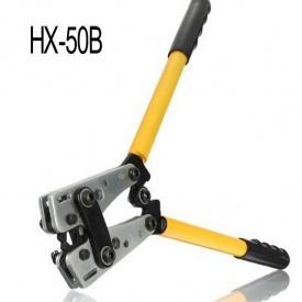Клещи обжимные для силовых наконечников HX-50 В