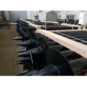 Паля гвинтова ПГ108 3,5х2500 мм 250 мм спецпокриття