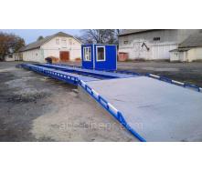 Весы автомобильные 14 метров (40) 60 тонн для полуприцепов, еврофур