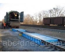 Техническое обслуживание весов вагонных, подготовка к поверке