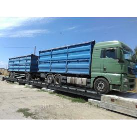 Автомобильные весы для машин 18 метров 80 тонн