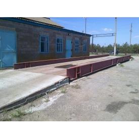 Ваги автомобільні 18 метрів платформа виготовляється у замовника