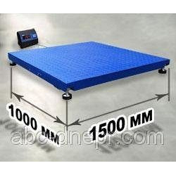 Весы платформенные 1000х1500