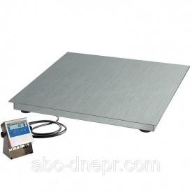 Весы платформенные 1х1 м из нержавеющей стали