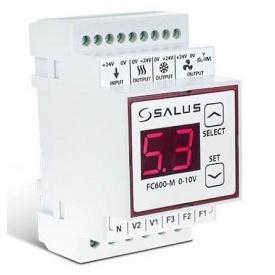 Модуль регулятора FC600, предназначен для факойлов и климаконвекторов с управляющим сигналом 0...10V Salus FC600-M 0-10V