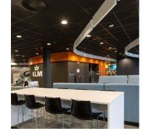 Акустичні панелі Rockfon Industrial Black 600х600х25мм чорні