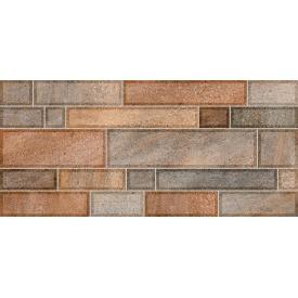 Плитка для стін InterCerama Metro 23х50 см коричнева темна (2350 59 032)