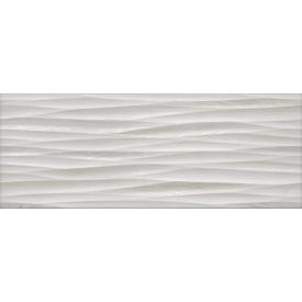 Плитка для стін InterCerama Alba 23х60 см сіра світла рельєф (2360 169 071/Р)