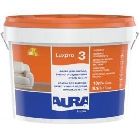 Краска для потолка и стен Aura Luxpro 3 1 л