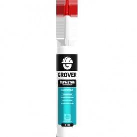 Герметик силиконовый санитарный Grover S100 белый прозрачный
