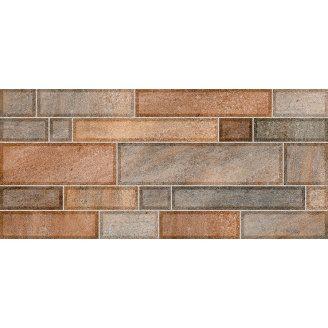 Плитка для стен InterCerama Metro 23х50 см коричневая темная (2350 59 032)