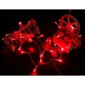 Новорічна гірлянда Ecolend 3 метри на батарейках червона IP44 для вулиці під навісом (Н3БК)