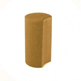 Палисад Західтрансбуд Полумесяц 110х110х300 мм горчичный