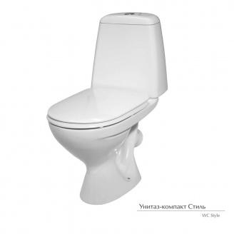 Унитаз-компакт Керамин Cтиль с мягким сиденьем