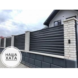 Паркан Жалюзі Наша-Хата метал 0,45 мм