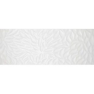 Плитка для стін InterCerama Florentine 23х60 см біла рельєф (2360 147 061/Р)