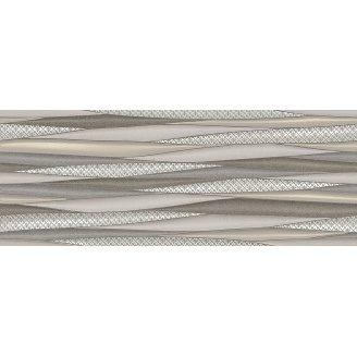 Плитка для стін InterCerama Luna 23х60 см бежева світла рельєф (2360 175 021-1/Р)