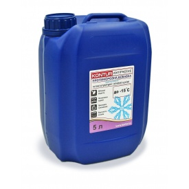 Противоморозная добавка для готовых штукатурных и клеевых смесей KONTUR-ANTIFREEZE 5 л