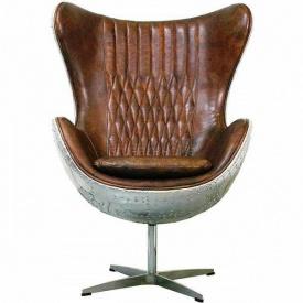 Кресло Egg Aviator brown