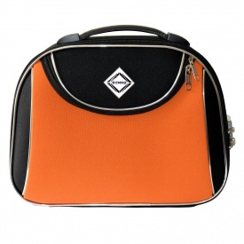 Сумка кейс саквояж Bonro Style большой черно-оранжевый 10101606
