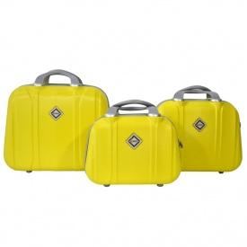 Сумка кейс саквояж Bonro Smile 3в1 желтый 10090304