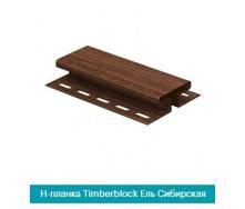 Н-профиль U-Plast TIMBERBLOCK Ель Сибирская 3,05м