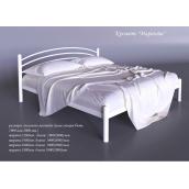 Металева ліжко Маранта Tenero 1600х2000 мм біла