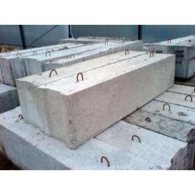 Блоки фундаментные ФБС 12-4-6 1180х400х580 мм