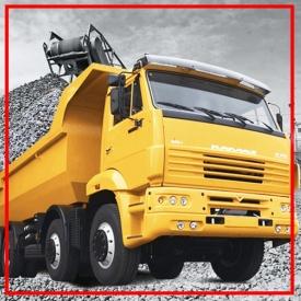 Вантажоперевезення сипучих матеріалів по області 40 т