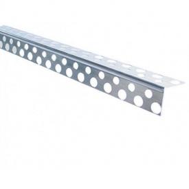Угол штукатурный алюминиевый перфорированный 3 м