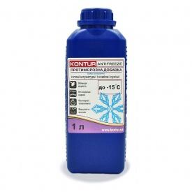 Противоморозная добавка для готовых штукатурных и клеевых смесей KONTUR-ANTIFREEZE 1 л