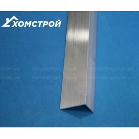Уголок алюминиевый 15х25х1,5 без покрытия
