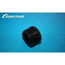 Заглушка черная круглая внутренняя 30 мм