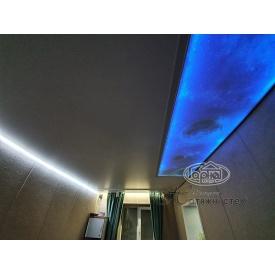 Натяжной потолок Double vision с подсветкой