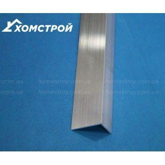 Куточок алюмінієвий 15х25х1,5 без покриття