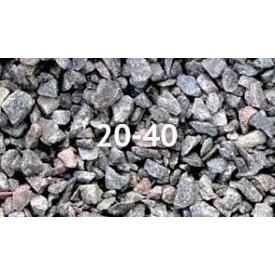 Щебінь гранітний 20-40 мм