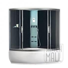Парова кабіна Polaris Prestige 150 з гідромасажною ванною 1500х1500х2260 мм