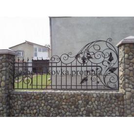 Забор з елементами ковки Б-0104