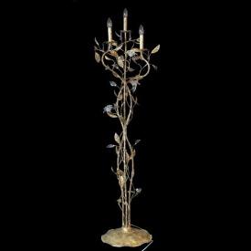 Торшер флористика под свечу MLF 2048/3F GOLD