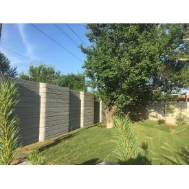 Крафтовий паркан ConcreteFlow двосторонній 2000х250 мм