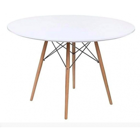 Круглый стол Тауэр Вуд SDM 740х1200 мм белый
