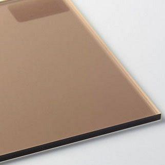 Лист бронзового монолітного полікарбонату Bauglas 2,05x3,05 м 3 мм