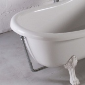 Злив/перелив для ванни Lady Hamilton хром